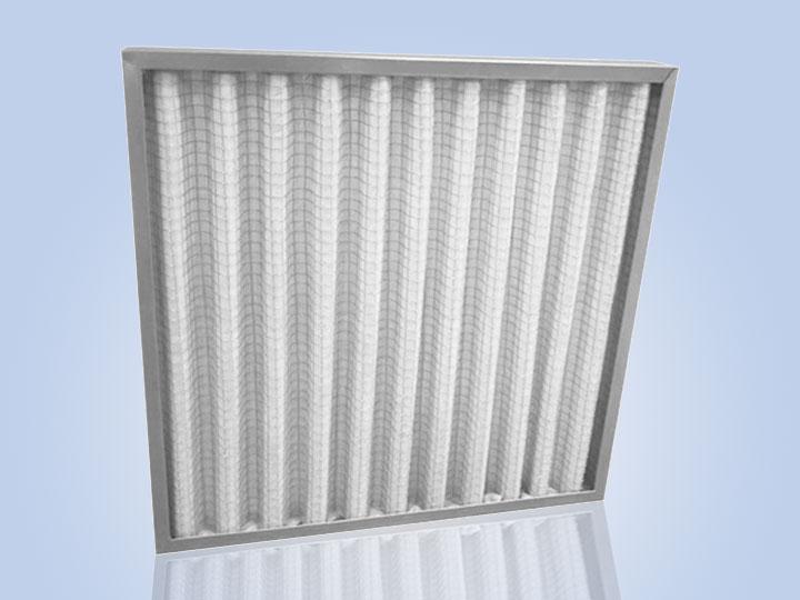 镀锌框折叠初效空气过滤器