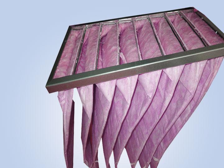 耐高温袋式初效空气过滤器