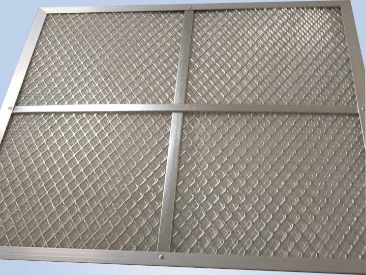 耐高温板式初效空气过滤器