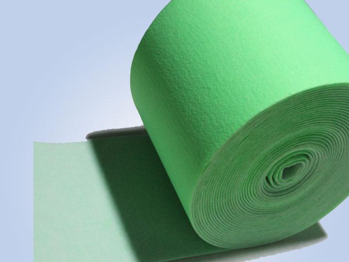 绿白过滤棉