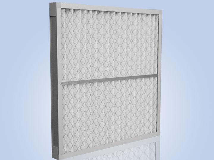 铝框折叠初效空气过滤器