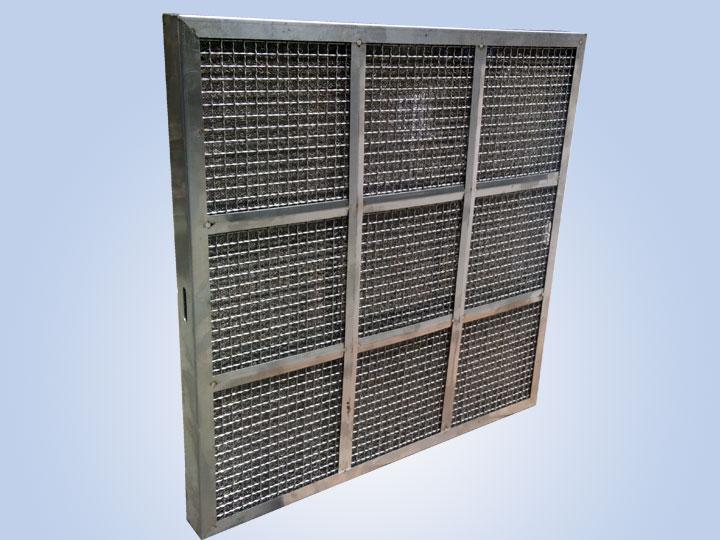 不锈钢汽液网初效空气过滤器