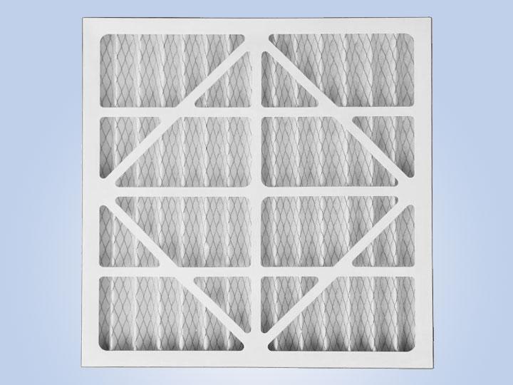 纸框折叠初效空气过滤器