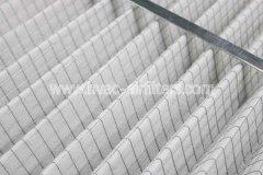 镀锌框折叠初效空气过滤器常规有哪些规格尺寸 它的特点是什么