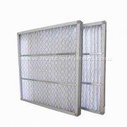 镀锌框折叠初效空气过滤器尺寸有哪些 有哪些特点