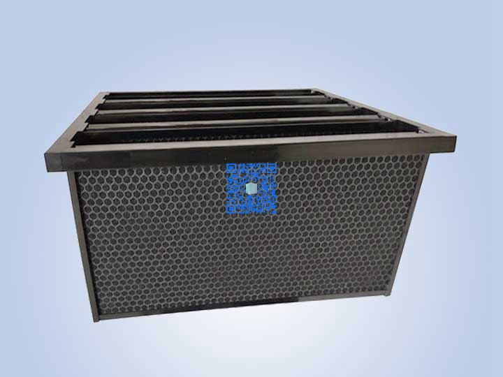 活性炭V型过滤器(活性碳过滤器)